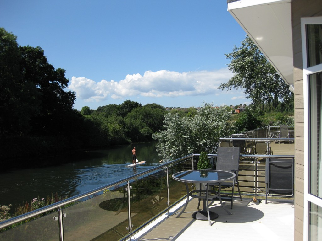 Stunning River Frontage Lodge For Sale At Beaulieu Gardens